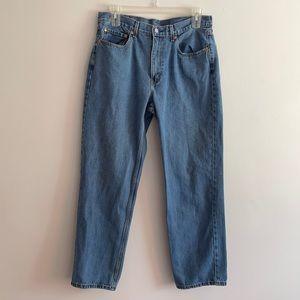 Levi's 550 denim jeans size 36X32